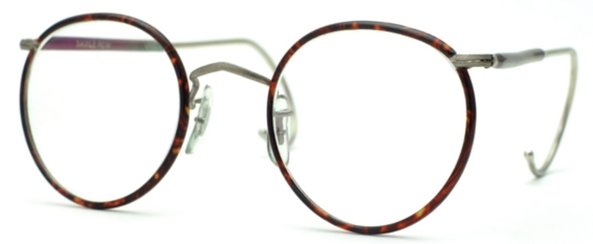 Savile Row Beaufort Panto 18kt Cable Temples Eyeglasses