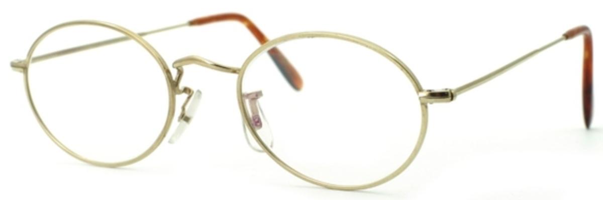 Savile Row Orford 18Kt, Skull Temples Eyeglasses