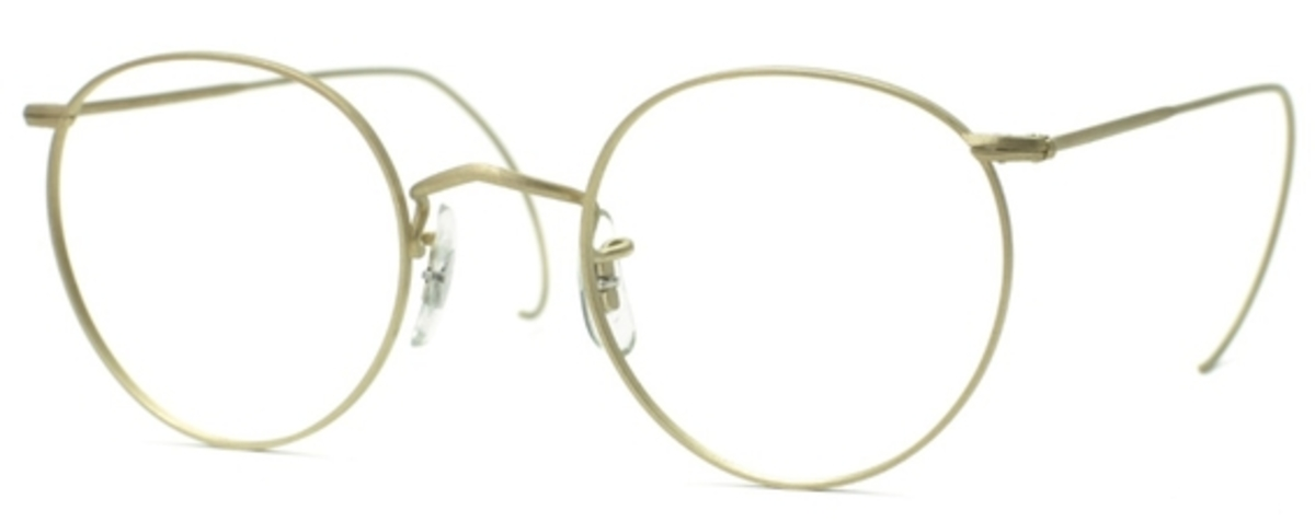 Savile Row Panto 18Kt, Cable Temples Eyeglasses Frames