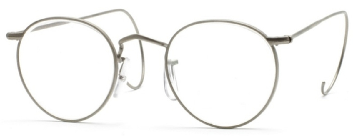 Savile Row Panto 18Kt, Cable Temples Eyeglasses