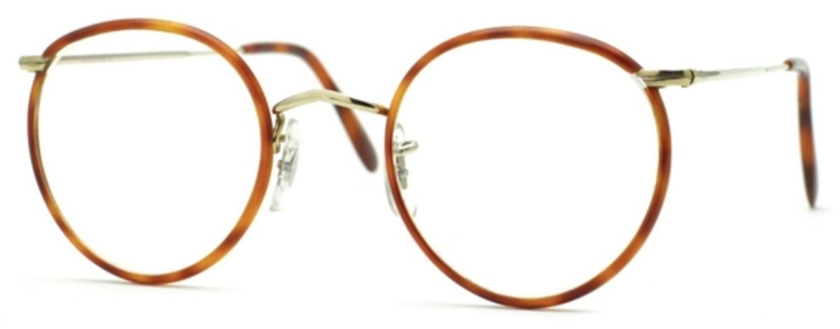 Eyeglasses Frame Temples : Savile Row Panto 18Kt, Skull Temples Eyeglasses Frames