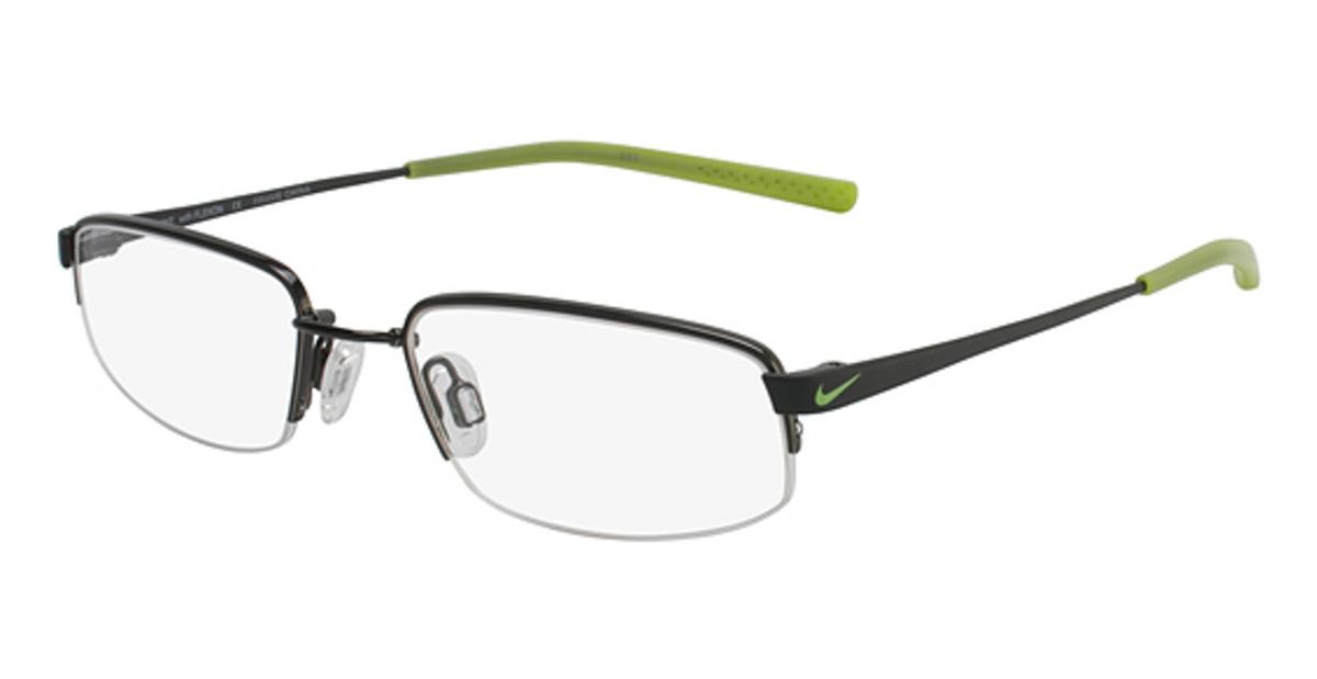Nike Black Frame Glasses : Nike 4627 Eyeglasses Frames