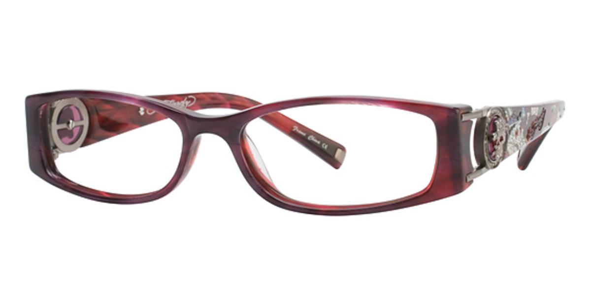 Ed Hardy EHO718 Eyeglasses Frames