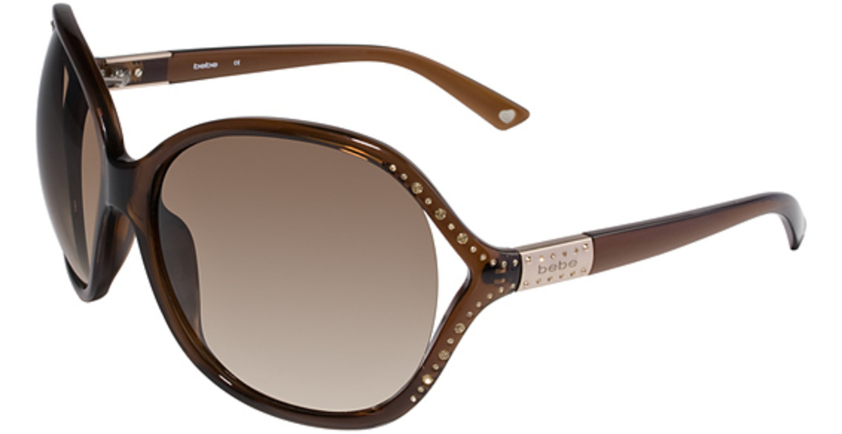 White Bebe Eyeglass Frames : bebe BB7020 Sunglasses