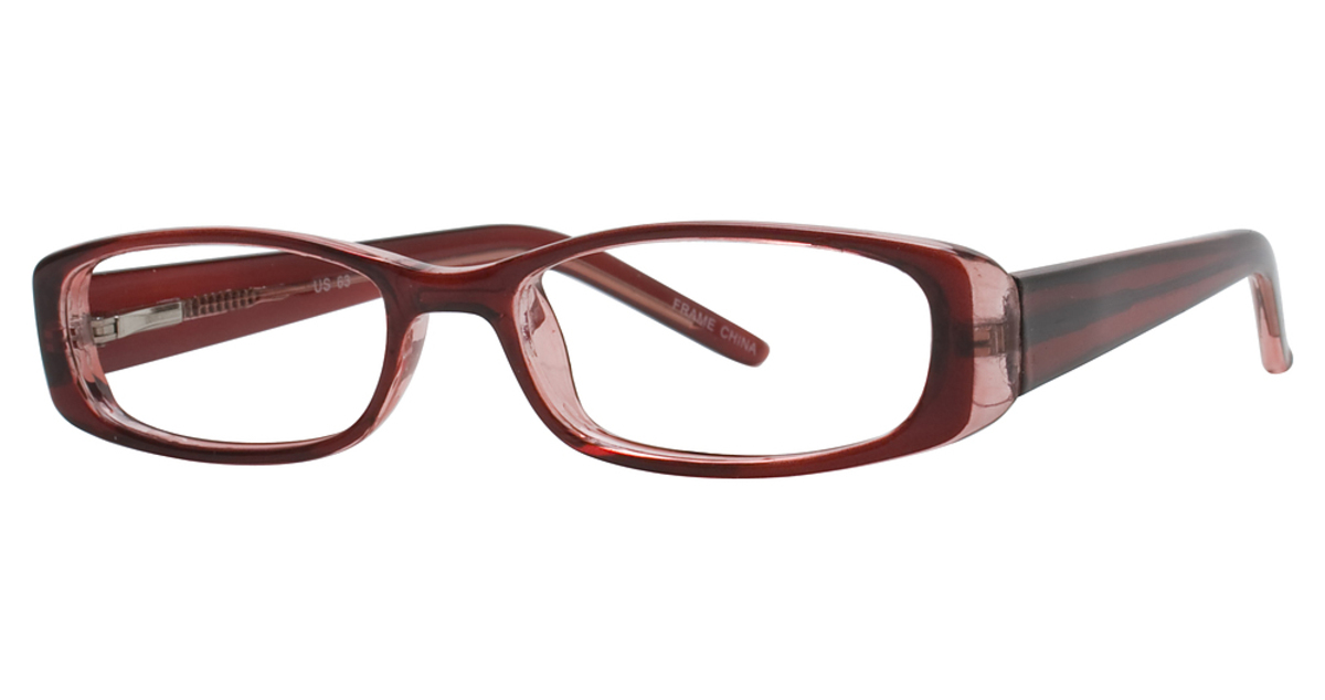 Glasses Frames Us : Capri Optics US 63 Eyeglasses Frames