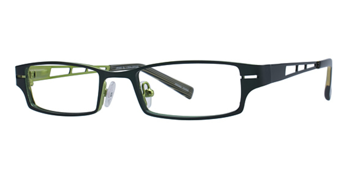 emerald green eyeglass frames Wrap Yourself Thin