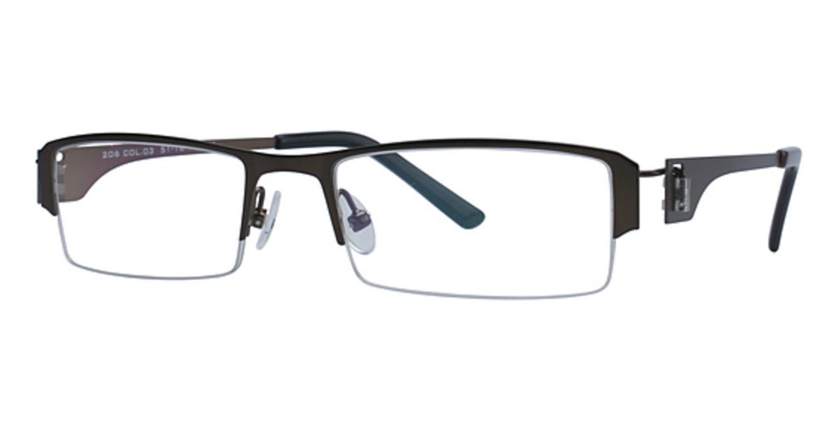 teka 206 eyeglasses frames