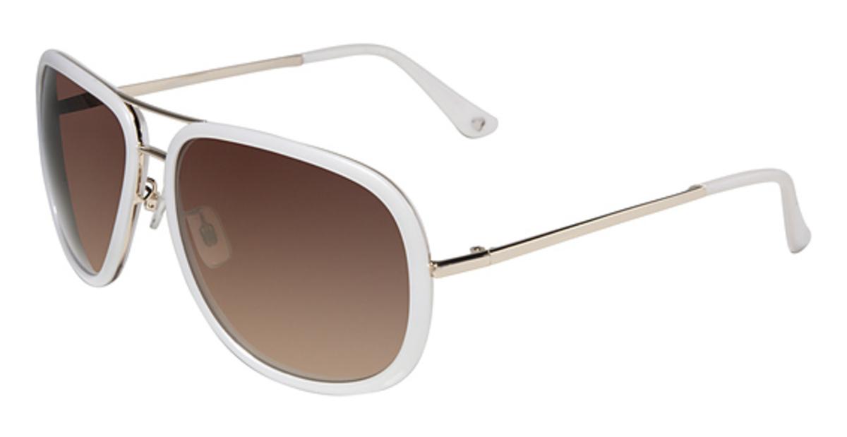 White Bebe Eyeglass Frames : bebe BB7031 Sunglasses