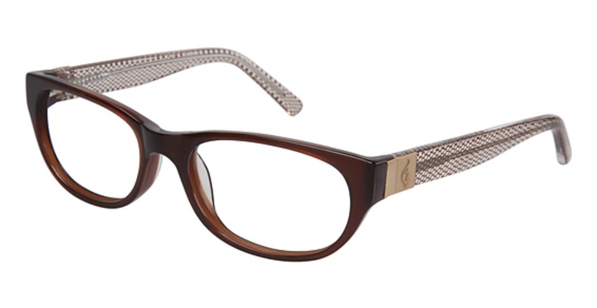 Black Frame Glasses For Babies : Baby Phat 238 Eyeglasses Frames
