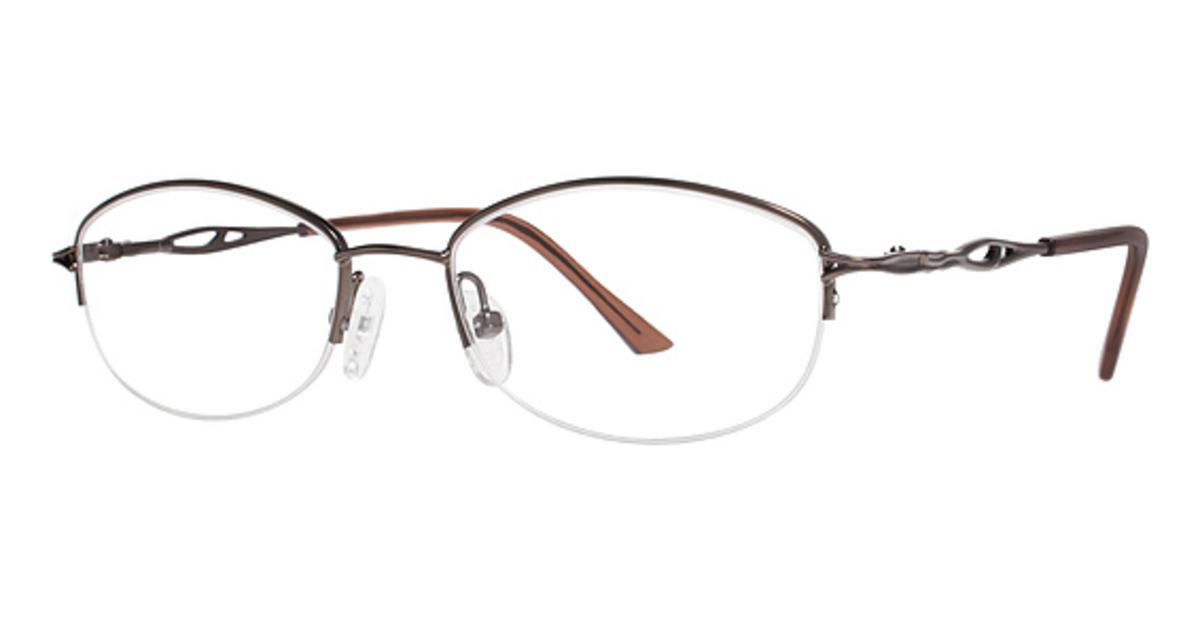Modern Times Crystal Eyeglasses Frames