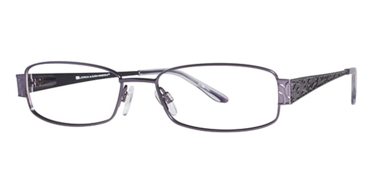Eyeglass Frames Gloria Vanderbilt : Gloria Vanderbilt Gloria By 4023 Eyeglasses Frames