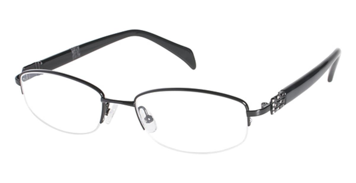 Eyeglass Frames Geoffrey Beene : Geoffrey Beene Polished Eyeglasses Frames