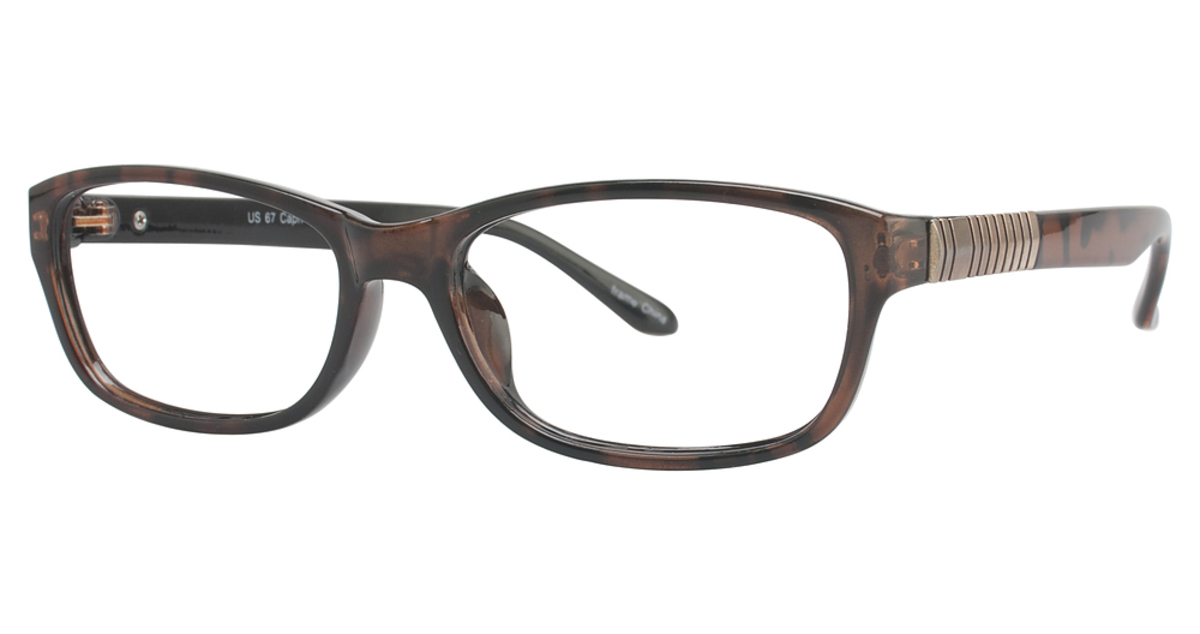 Glasses Frames Us : Capri Optics US 67 Eyeglasses Frames