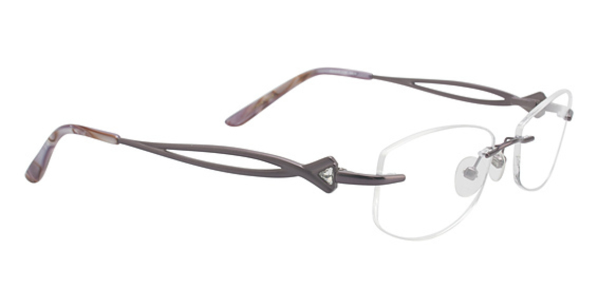 Rimless Glasses : Totally Rimless TR 182 Eyeglasses Frames