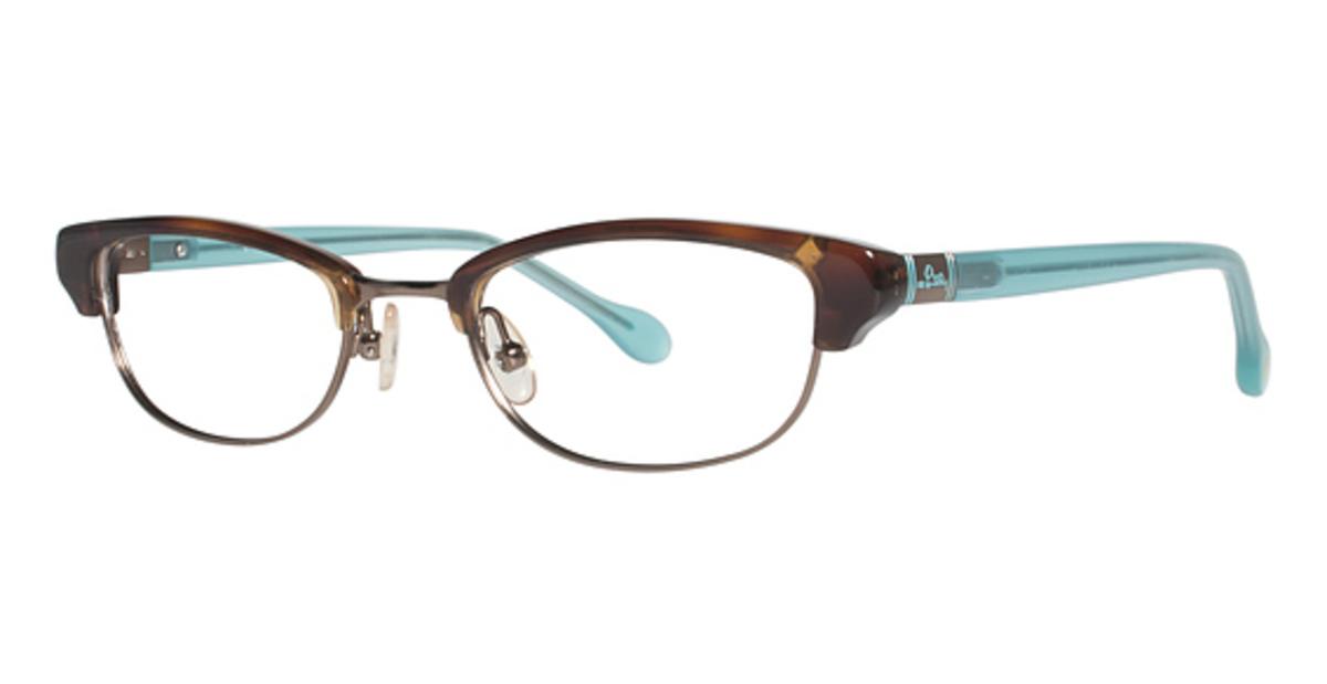 Eyeglass Frames Lilly Pulitzer : Lilly Pulitzer Franco Eyeglasses Frames