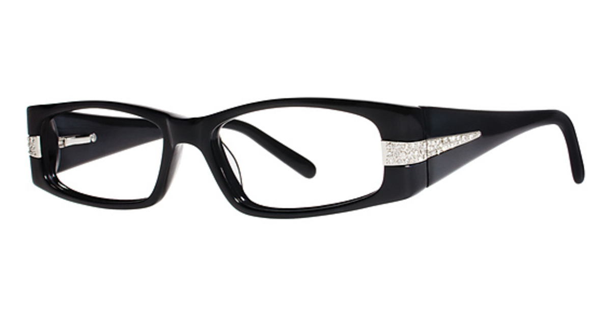 Glasses Frames With Diamonds : Genevieve Boutique Diamond Eyeglasses Frames