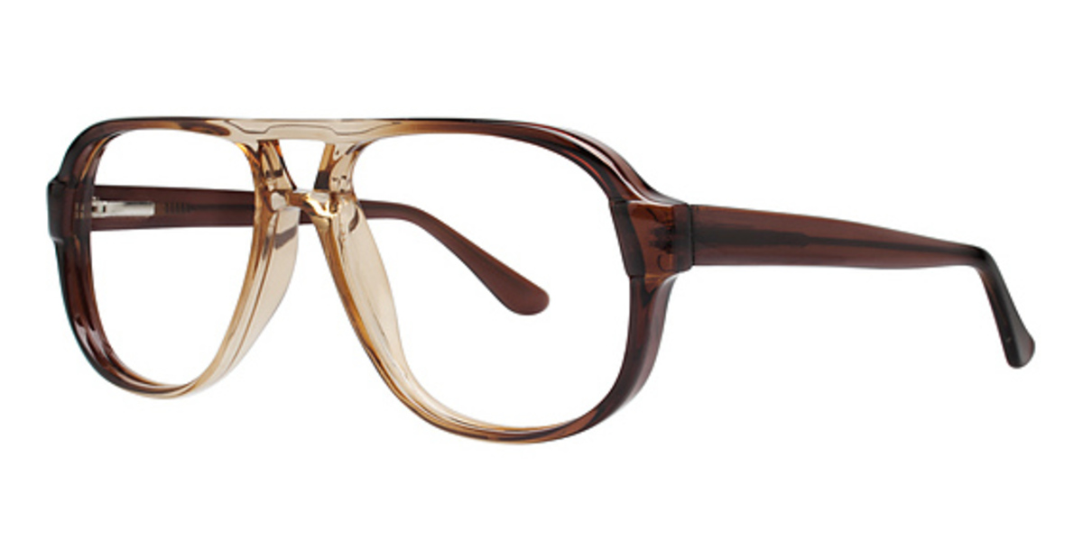 Modern Optical Tycoon Eyeglasses Frames
