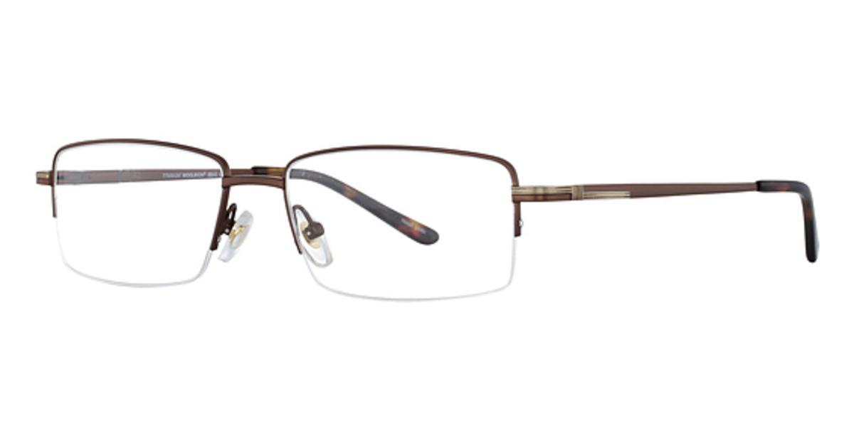 Eyeglass Frames Titanium : Woolrich Titanium 8849 Eyeglasses Frames