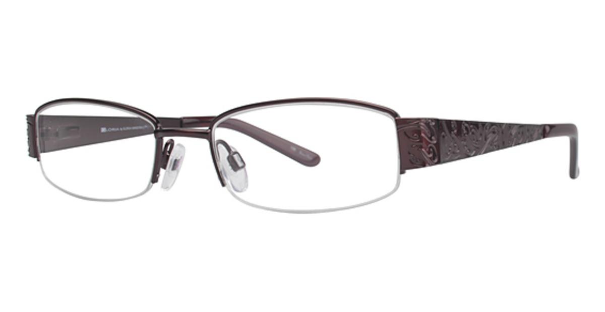 Eyeglass Frames Gloria Vanderbilt : Gloria Vanderbilt Gloria By 4027 Eyeglasses Frames