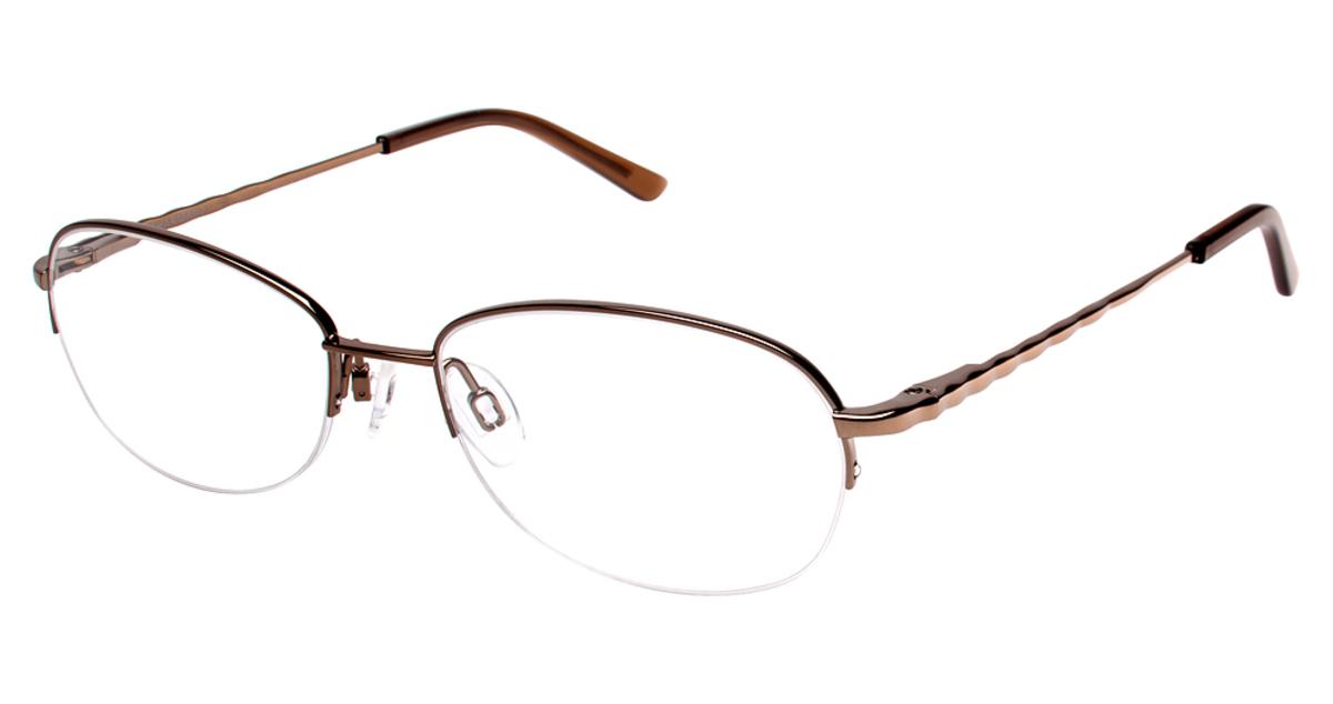 Eyeglass Frames Titanium : Charmant Titanium TI 12084 Eyeglasses Frames