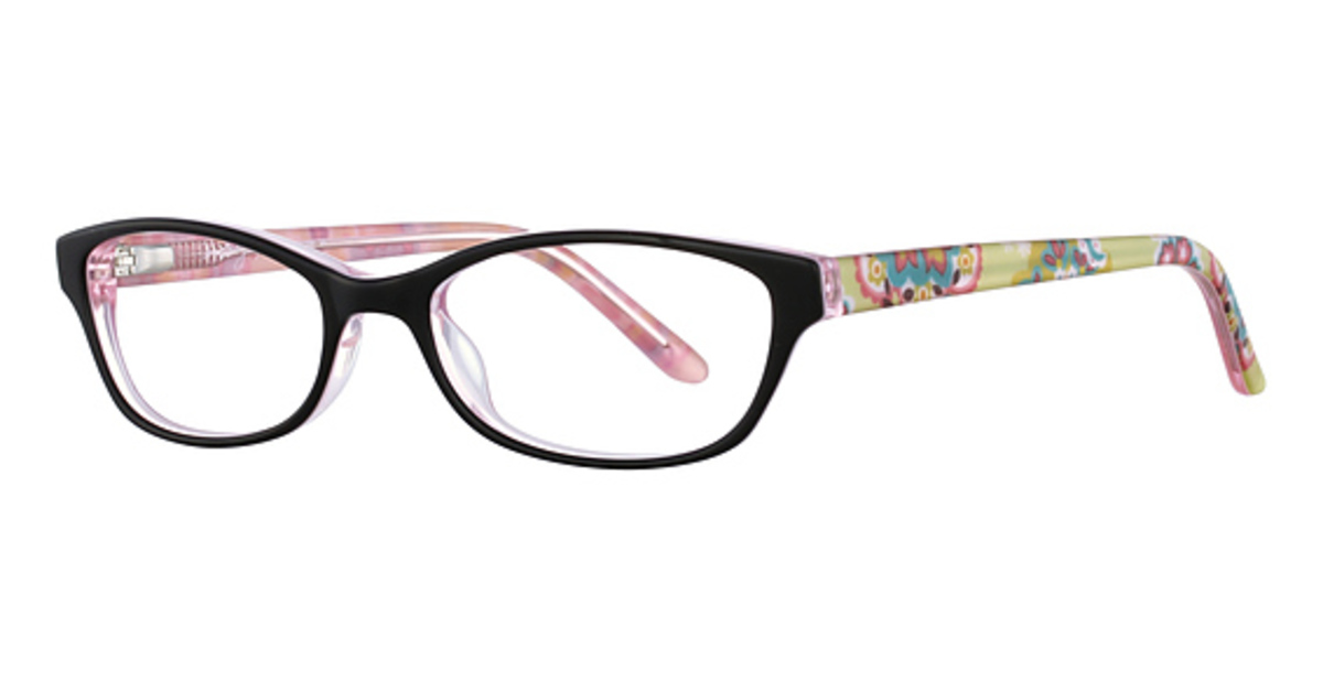 d08d0d8eb7f Vera Bradley Vb Hillary Eyeglasses Frames. Vera Bradley Tort Blue Vb Hadley  Eyeglasses 3 Quarters View