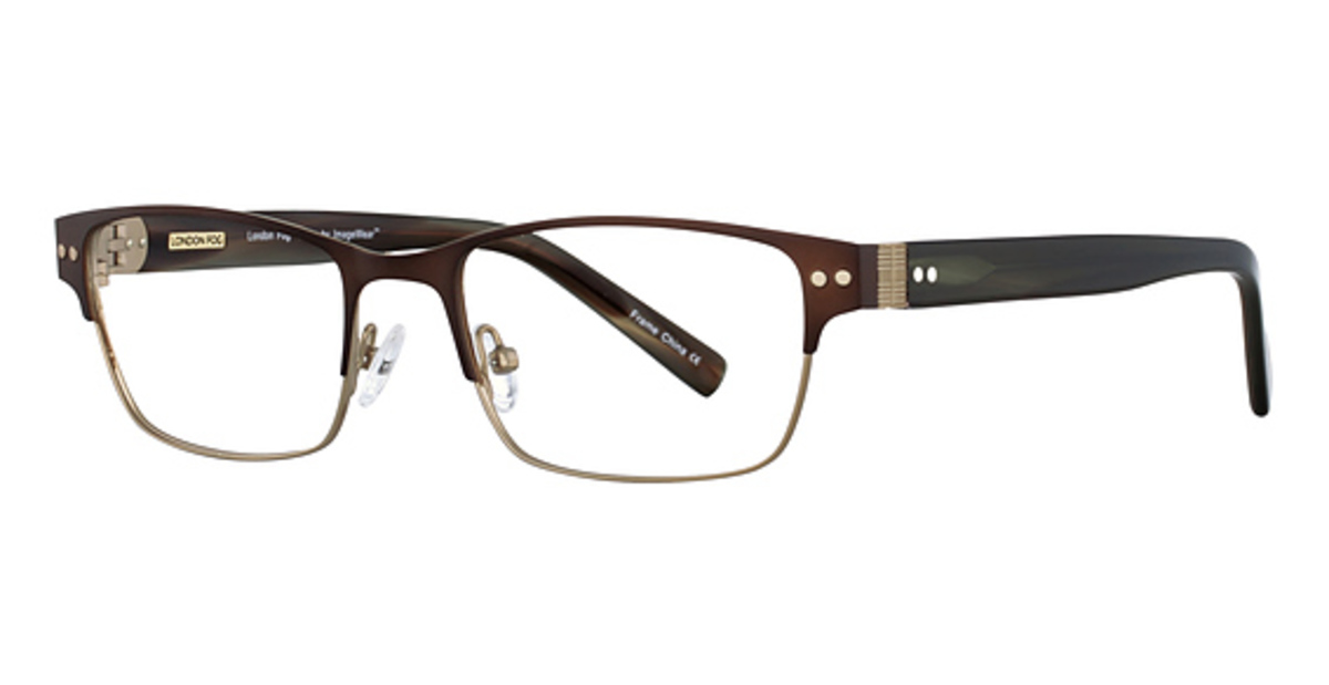 Lenscrafters Mens Eyeglass Frames : London Fog Mens Blake Eyeglasses Frames