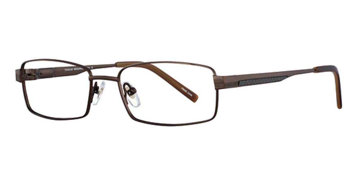Lafont Titanium Eyeglass Frames : Woolrich Titanium 8851 Eyeglasses Frames