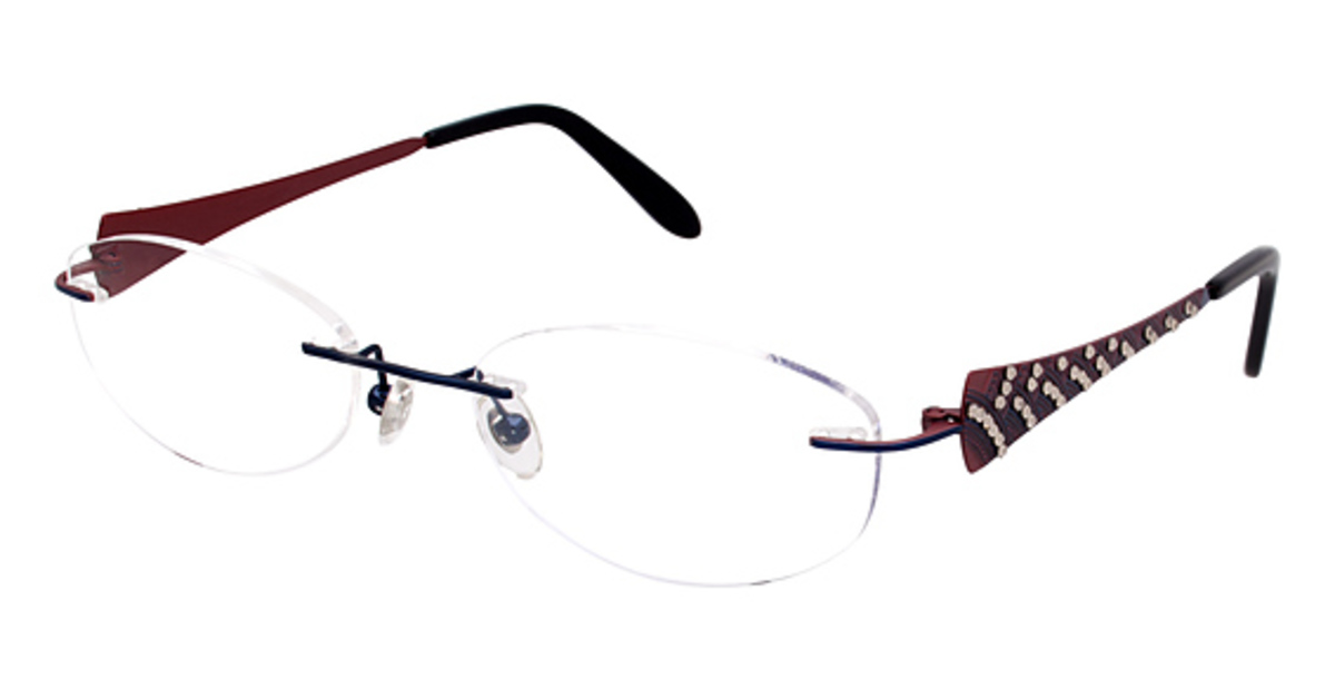Eyeglass Frames New York : Jimmy Crystal New York Fancy Eyeglasses Frames