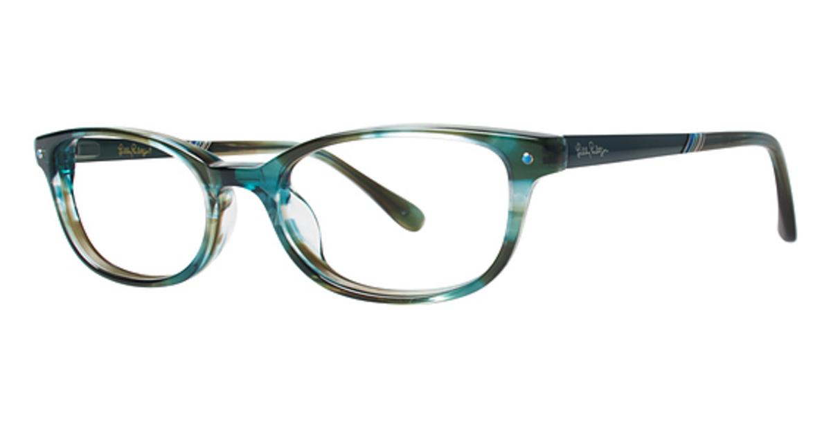 Lilly Pulitzer Leighton Eyeglasses Frames