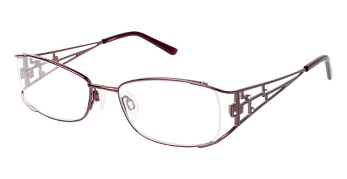Eyeglass Frames Titanium : Charmant Titanium TI 12098 Eyeglasses Frames