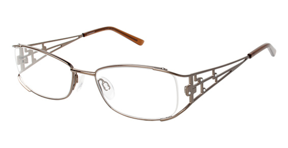 Best Titanium Frame Glasses : Charmant Titanium TI 12098 Eyeglasses Frames
