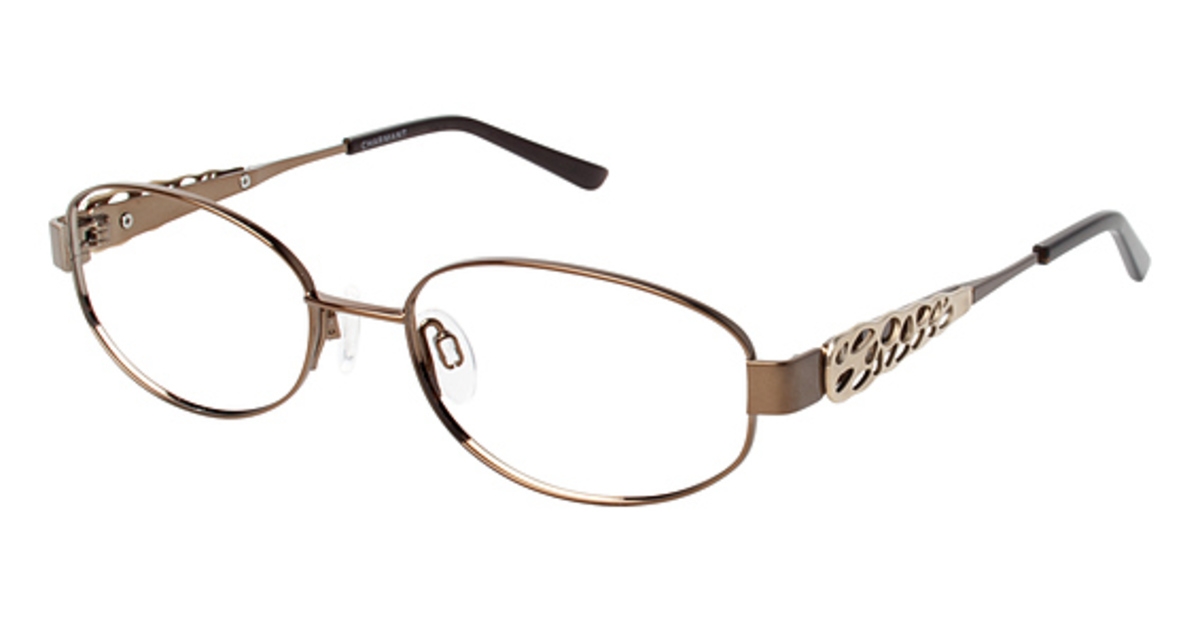 Eyeglass Frames Titanium : Charmant Titanium TI 12105 Eyeglasses Frames