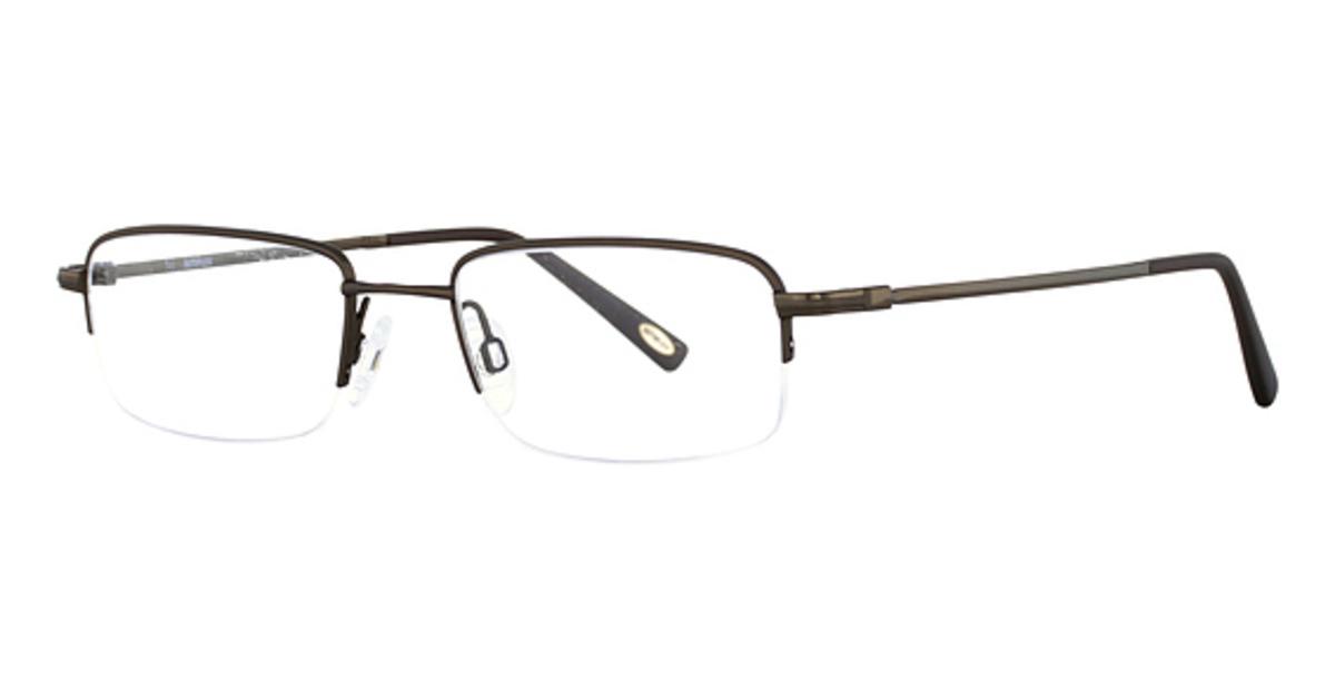 Autoflex Bulldog Eyeglasses (210) Brown -  Flexon, 365148