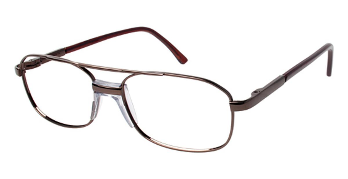A&A Optical M551-P Eyeglasses