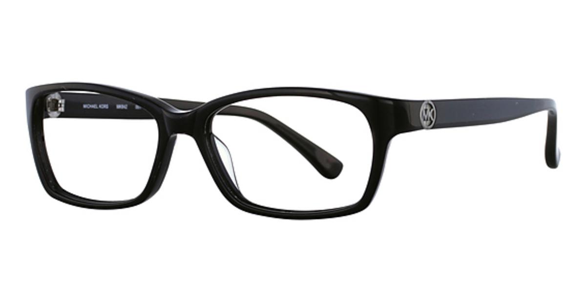 Michael Kors Black Frame Glasses : Michael Kors MK842 Eyeglasses Frames
