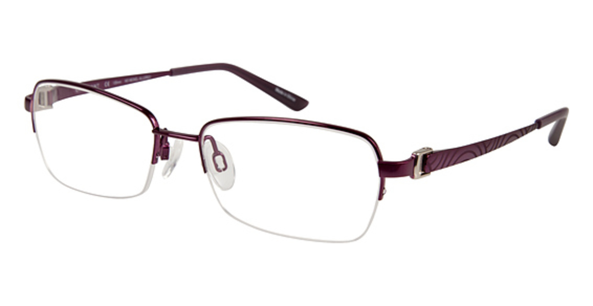 Eyeglass Frames Titanium : Charmant Titanium TI 12108 Eyeglasses Frames