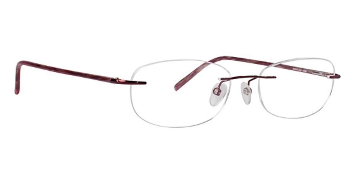 Rimless Glasses Polished Edges : Totally Rimless TR 192 Eyeglasses Frames