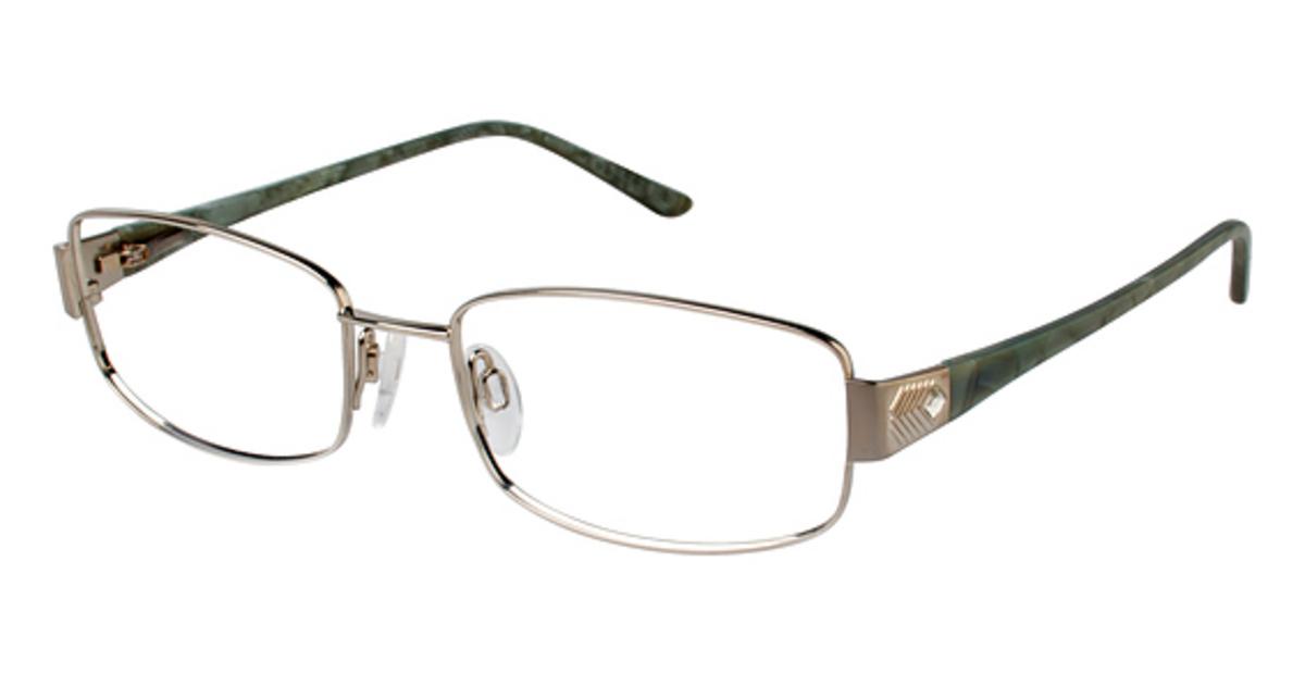 Eyeglasses Frame Titanium : Charmant Titanium TI 12111 Eyeglasses Frames