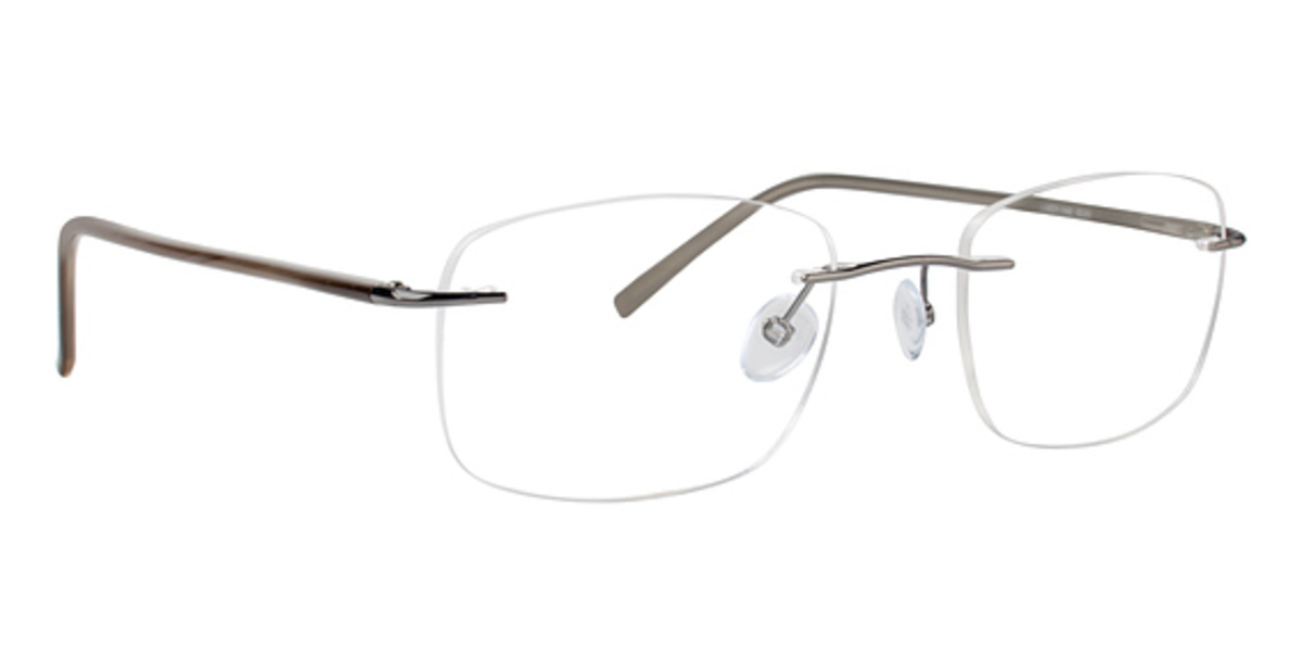 Rimless Glasses Frames : Totally Rimless TR 214 Eyeglasses Frames