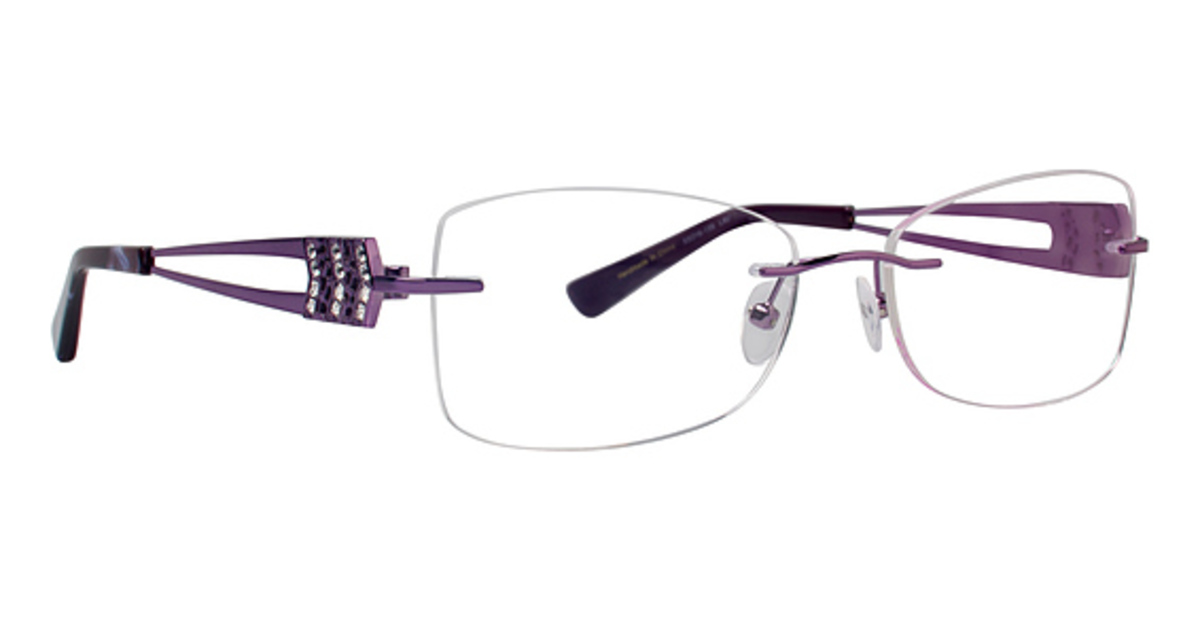 Rimless Glasses Frames : Totally Rimless TR 216 Eyeglasses Frames