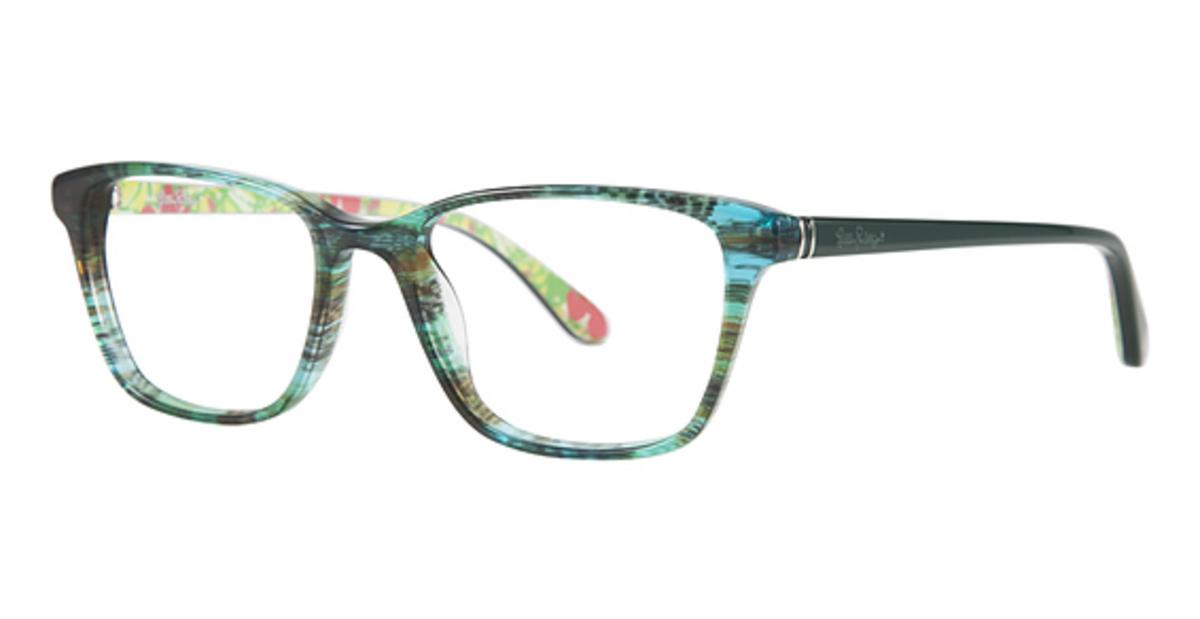 Lilly Pulitzer Delfina Eyeglasses Frames