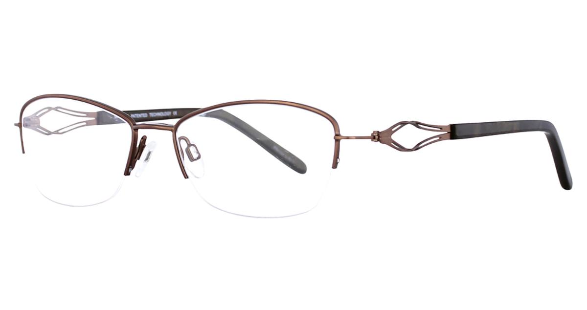 Aspex Easy Clip Eyeglass Frames : Aspex EC327 Eyeglasses Frames