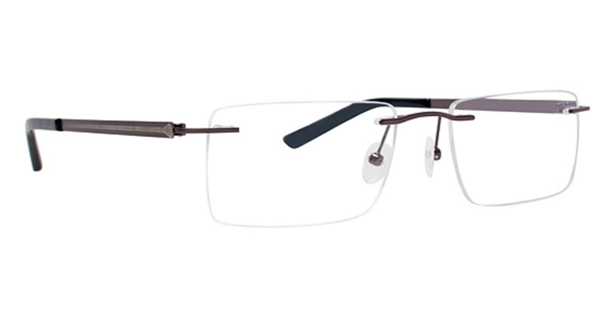 Rimless Glasses Polished Edges : Totally Rimless TR 220 Eyeglasses Frames