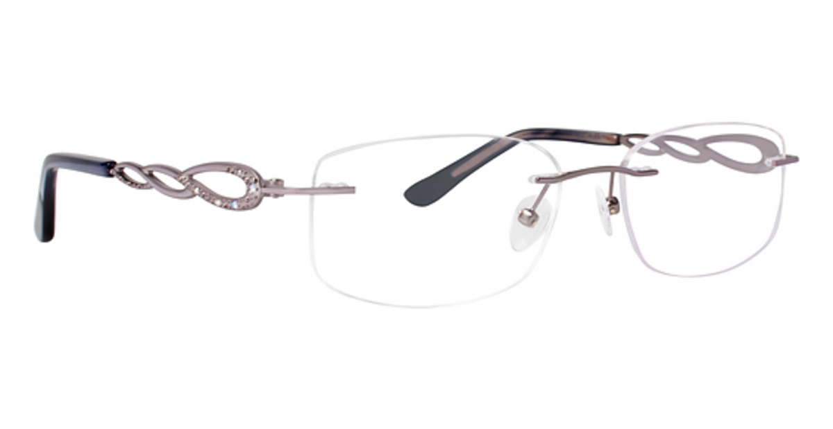Rimless Glasses Polished Edges : Totally Rimless TR 219 Eyeglasses Frames