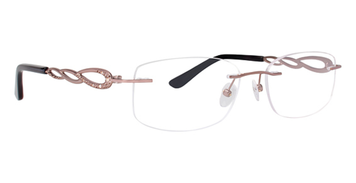 Rimless Glasses Frames : Totally Rimless TR 219 Eyeglasses Frames