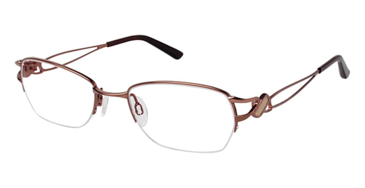Eyeglass Frames Titanium : Charmant Titanium TI 12104 Eyeglasses Frames