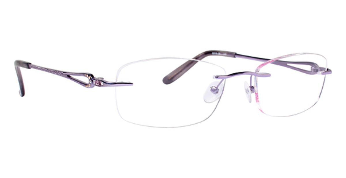 Rimless Glasses : Totally Rimless TR 222 Eyeglasses Frames