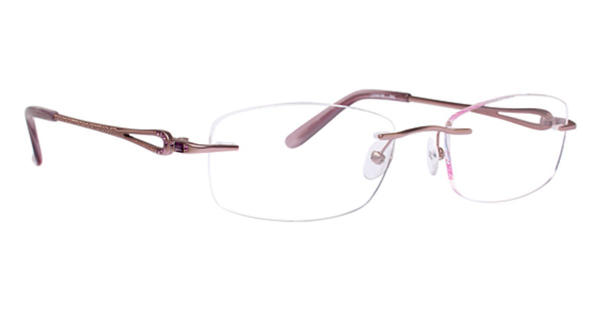 Eyeglasses Frames Rimless : Totally Rimless TR 222 Eyeglasses Frames