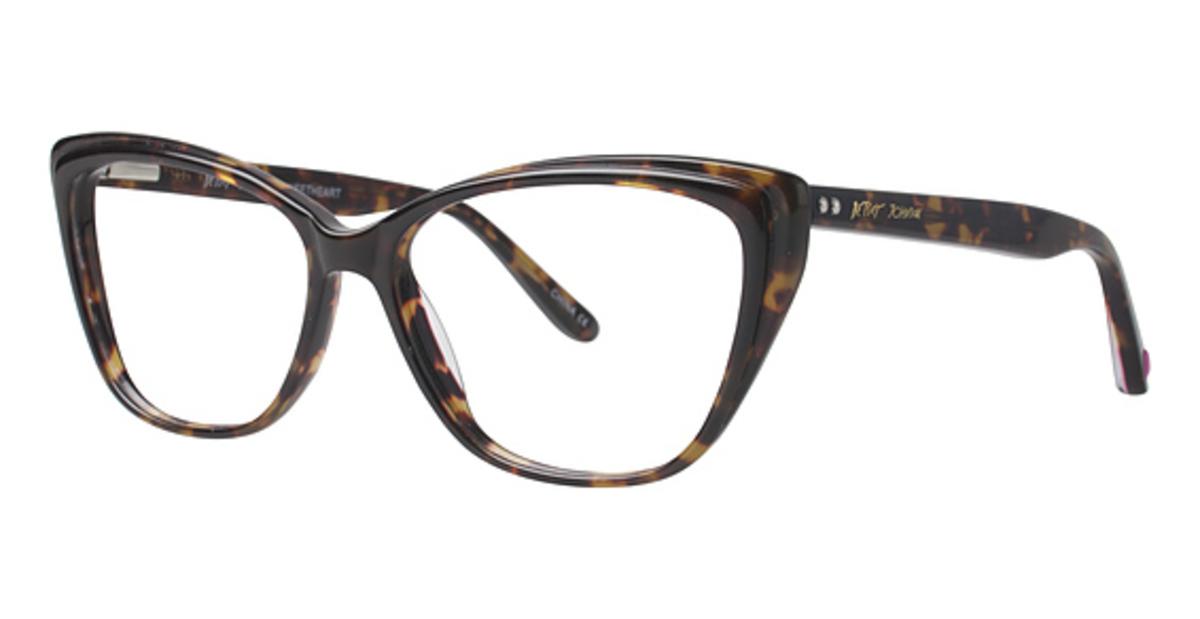 Betsey Johnson Sweetheart Eyeglasses Frames