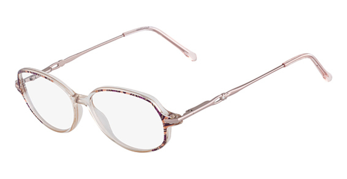 Marchon Tres Jolie 72 Eyeglasses Frames
